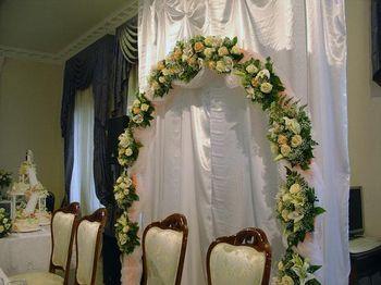 Свадебная флористика оформление